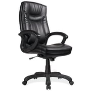 OfficeSource Whistler High-Back Executive Chair; Black