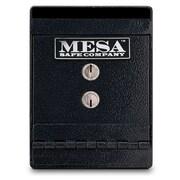 Mesa Safe Co. Key Lock Undercounter Depository Safe; 8'' H