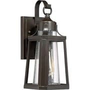 Laurel Foundry Modern Farmhouse Chisholm Palladian Bronze 1 Light Outdoor Wall Lantern