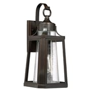 Laurel Foundry Modern Farmhouse Chisholm Bronze 1 Light Outdoor Wall Lantern