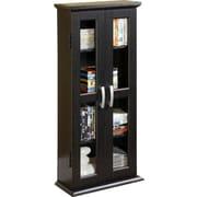 Home Loft Concepts DVD Multimedia Cabinet; Textured Black