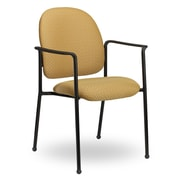 Seating Inc Pearl II Guest Chair; Black