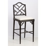 AA Importing 31'' Bar Stool; Black