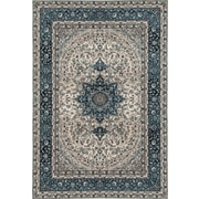 World Rug Gallery Elite Blue Area Rug; 5'3'' x 8'3''