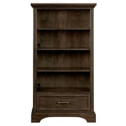 Stone & Leigh  by Stanley Furniture Chelsea Square 58'' Standard Bookcase; Raisin
