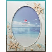 FashionCraft Hand Painted Beach Picture Frame