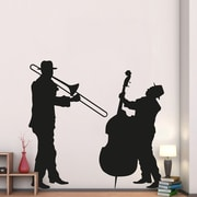WallPops! Home Decor Line Jazz Duo Wall Decal