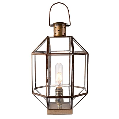 A&B Home Revere 1 Light Lantern Head; 14'' H x 8.5'' W x 8.5'' D WYF078279318806