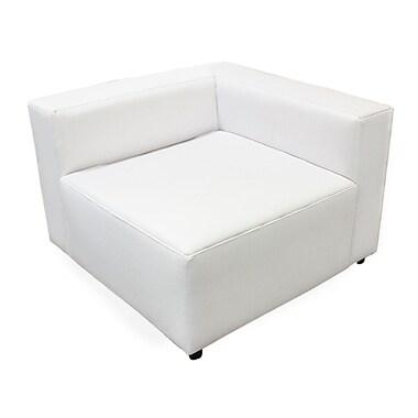 BestMasterFurniture Corner Lounge Chair White