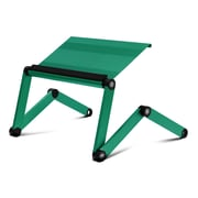 Furinno Adjustable Laptop Stand; Christmas Green