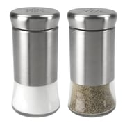 Home Basics 2-Piece Salt and Pepper Set