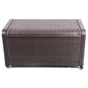Vandue Corporation Modern Home Coconut Bay Weatherproof Outdoor Rattan Storage Box