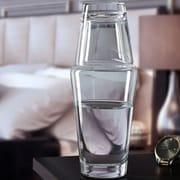KROSNO Hydro 2 Piece Bedside Water Carafe Set