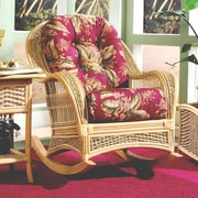 Spice Islands Rocking Chair; Ciboney Lacquer
