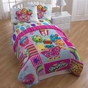 Disney Shopkins Patchwork All Season Comforter