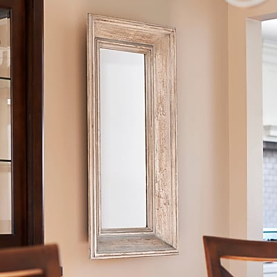 Household Essentials Rectangle Wall Mirror
