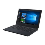 "Acer® TravelMate B117-MP TMB117-MP-C2G3 11.6"" Notebook, LED, Intel Celeron N3060, 32GB SSD, 4GB RAM, Win, Black"