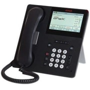 Avaya 9641GS Multiline Desktop/Wall Mountable IP Phone, Black