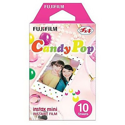 Fujifilm instax mini 16321418 Candy Pop Instant Film, 10/Pack IM14T8769