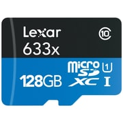 Lexar™ High Performance UHS-I microSDXC Memory Card, 128GB, Black (LSDMI128BBNL633A)