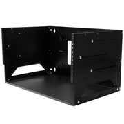 StarTech® 4U Wall Mount Server Rack, Black (WALLSHELF4U)