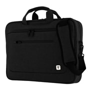 "V7® CTPX1-BLK-1N 500D Gucci Nylon Slim Case for 15.6"" Laptop, Black"