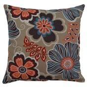 Creative Home Joy Cotton Throw Pillow; Turquoise