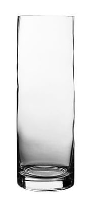 CYSExcel Glass Cylinder Vase (Set of 12); 12'' H x 4'' W x 4'' D WYF078279794110