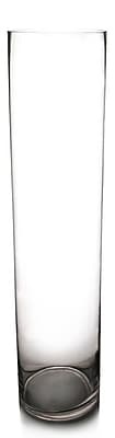 CYSExcel Glass Cylinder Vase (Set of 4); 26'' H x 6'' W x 6'' D WYF078279794116