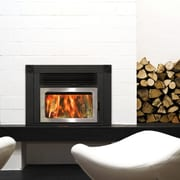 Supreme Fireplaces Inc. Volcano Plus Brushed Stainless Steel Door Capping