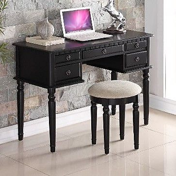 A&J Homes Studio Salinas Writing Desk and