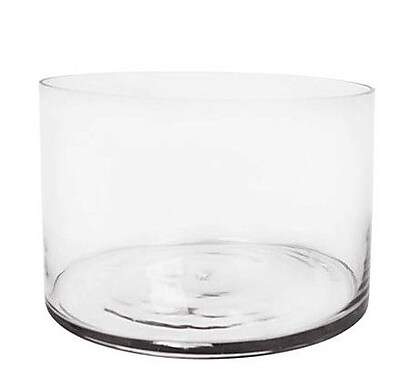 CYSExcel Glass Cylinder Vase (Set of 3) WYF078279789268