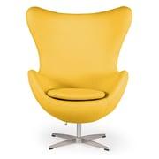 Kardiel Amoeba Balloon Chair; Citron