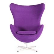 Kardiel Amoeba Balloon Chair; Purple