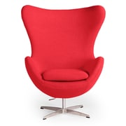Kardiel Amoeba Balloon Chair; Red
