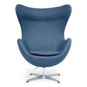 Kardiel Amoeba Balloon Chair; Azure