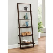 4D Concepts Arlington Wall 72'' Leaning Bookcase
