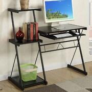 A&J Homes Studio Bryant Writing Desk; Black