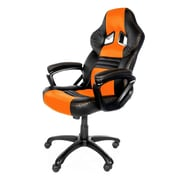 Arozzi Monza Racing Style Gaming Chair, Orange (MONZA-OR)