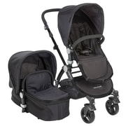Babyroues® Luxurious Letour II Bassinet and Stroller System, Black/Black (6625)
