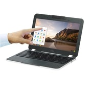 "CTL NBCNL61T 11.6"" Education Chromebook, Touchscreen LCD, Intel Celeron N3160, 32GB EMMC, 4GB RAM, Chrome OS"