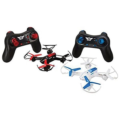GPX Quadcopter Battle Drone, 2/Pack (DR1717B)