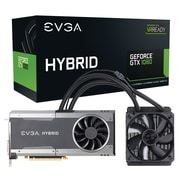 EVGA GeForce GTX 1080 FTW Hybrid PCI Express 3.0 Gaming Graphic Card with Powerlink Cable, 8192MB GDDR5X(08G-P4-6288-KR)