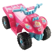 Fisher-Price® Power Wheels® Barbie Lil Quad 4 Wheeler All-Terrain Vehicle, Pink (CDY13)