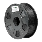 Green Project 3D-ABS-1.75BK Black 3D ABS Filament for 3D Printers