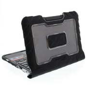 "Gumdrop DropTech Polycarbonate/Silicone Top/Rear Cover for 11.6"" Lenovo N21/N22 Chromebook, Black"