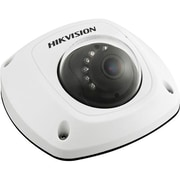 Hikvision® DS-2CD2512F-IS Wired Outdoor 1.3 MP Mini Dome Network Camera, Day/Night Vision, White
