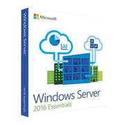 Microsoft Windows Server 2016 Essentials 64-bit Software, 1 Processor, DVD-ROM (G3S-00936)