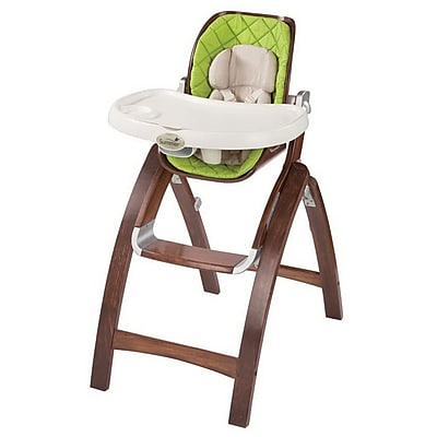 Summer Infant Baby Time Bentwood Portable Highchair, Green/Brown (22393) IM16F4426