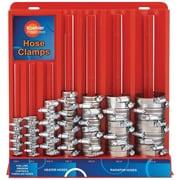Koehler Enterprises 70 Piece Stainless Steel Hose Clamp Assortment with Mountable Rack (KEDIS70)